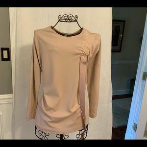Jersey knit tunic